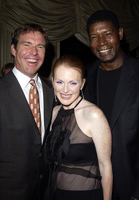 Dennis Quaid, Julianne Moore and Dennis Haysbert Far From Heaven Premiere Toronto Film Festival - 9/8/2002