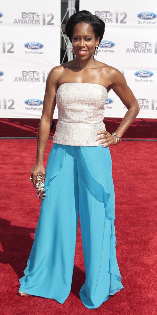Regina King poses at the 2012 …