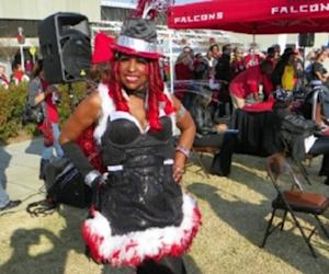 Atlanta Falcons Bird Lady Gives Back