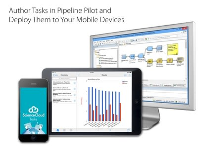 Author Tasks in Pipeline Pilot and Deploy Them to Your Mobile Devices