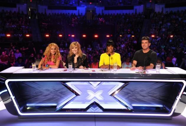 The judges' panel for 'The …
