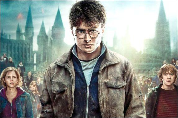 "Movie poster art for ""Harry Potter and the Deathly Hallows - Part 2."""
