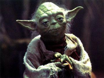 Yoda ( Frank Oz ) in 20th Century Fox's The Empire Strikes Back