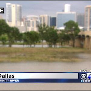 Keeping A Close Eye On Trinity River Levee