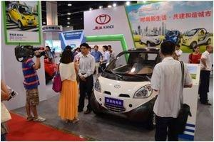 Kandi Shines at China International Green Vehicle Industry Expo (Hangzhou)