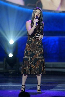 "Kelly Clarkson Final Three Fox's ""American Idol"" - 8/27/2002"