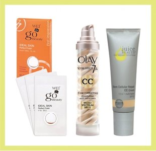 Photo: (from left) Courtesy of Wei East; Courtesy of Olay; Courtesy of Juice Beauty