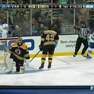 Vancouver Canucks at Boston Bruins - 02/24/2015