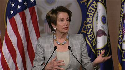 "Pelosi: Sequester ""Harmful"", Urges Action"