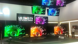 LG OLED TV at CES 2013