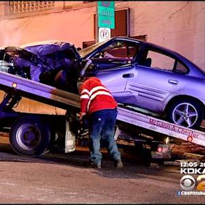 Overnight Knoxville Chase Ends In Violent Crash