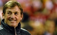 Liverpool&#39;s Scottish manager Kenny Dalglish arrives for the English Premier League football match between Liverpool and Everton at Anfield. Steven Gerrard marked his return to Liverpool&#39;s starting line-up with a hat-trick as Dalglish&#39;s side returned to winning ways with a 3-0 win over Everton in the Merseyside derby on Tuesday