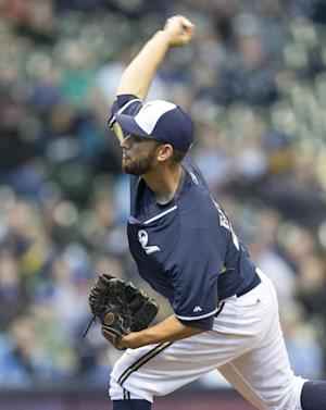 Marco Estrada pitches Brewers past Royals 7-2
