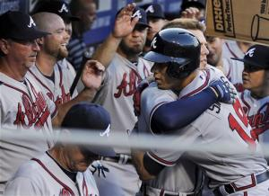 Heyward leads Braves offense in rout of Phillies
