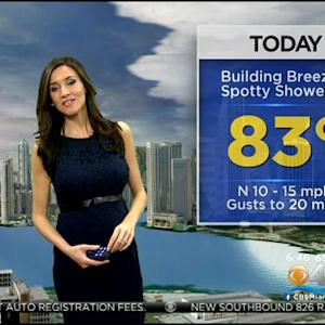 CBSMiami Weather @ Your Desk - 12/12/13 6:00 a.m.