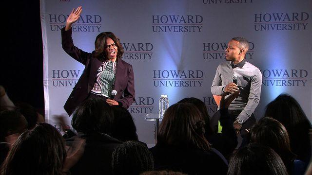 Michelle Obama, Bow Wow team up to promote higher education