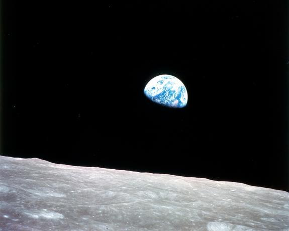The First Christmas in Space: An Apollo 8 Holiday History