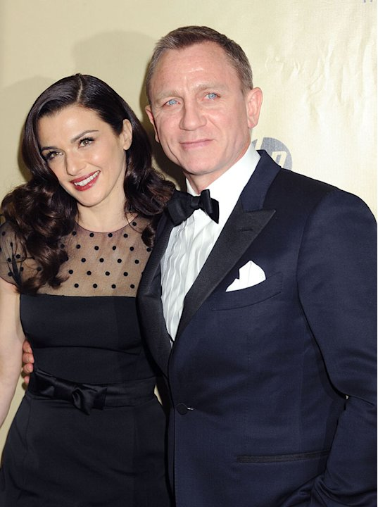 The Weinstein Company's 2013 Golden Globes After Party: Rachel Weisz and Daniel Craig