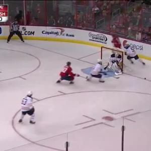 Jhonas Enroth Save on Jason Chimera (01:47/2nd)