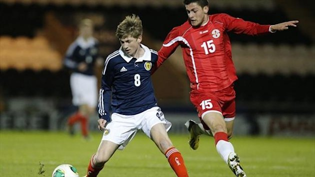 Ryan Gauld, left, was satisfied with his performance