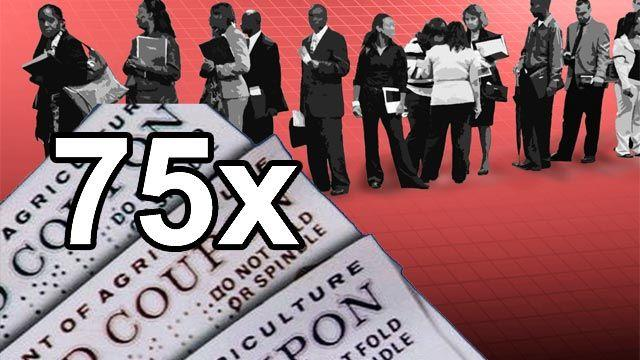 Grapevine: More food stamps than new jobs?