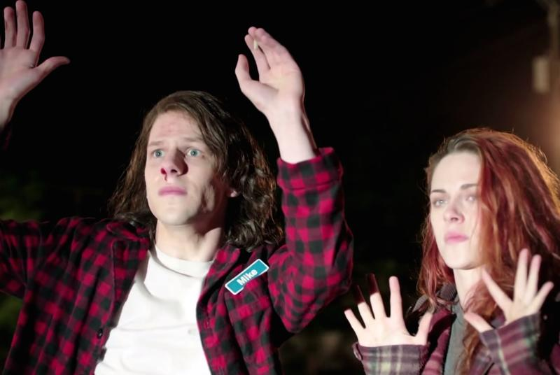 Jesse Eisenberg is a stoner and a sleeper assassin in this bloody American Ultra trailer