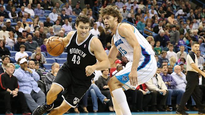 NBA: Brooklyn Nets at New Orleans Hornets
