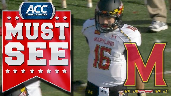 Maryland's C.J. Brown Breaks Loose For 49-Yard Touchdown Run | ACC Must See Moment