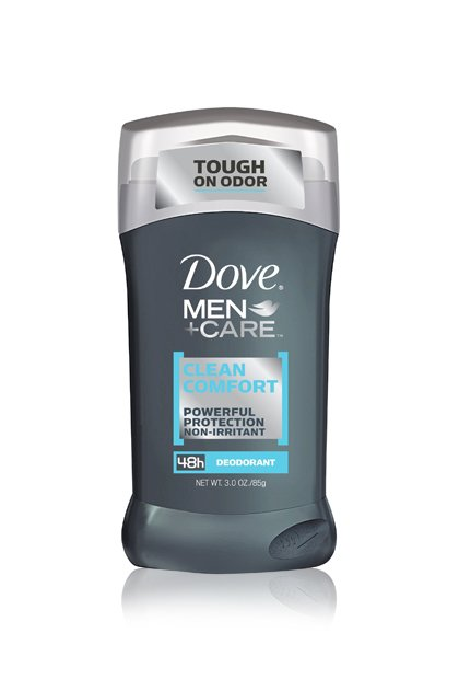 DOVE MEN+CARE DEODORANT IN CLEAN COMFORT, $3.84