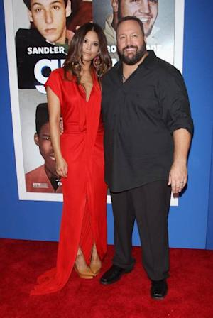 Steffiana de la Cruz and Kevin James attend the 'Grown Ups 2' New York Premiere at AMC Lincoln Square Theater on July 10, 2013 in New York City -- Getty Images