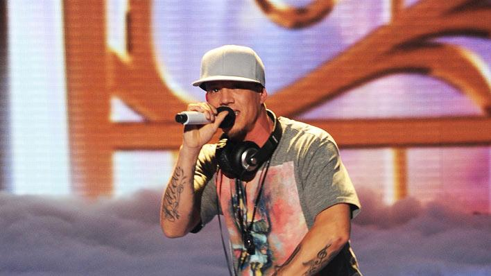 "Chris Rene performs a mash-up of ""Let It Be"" by The Beatles and ""Young Homie"" by Chris Rene on ""The X Factor."""