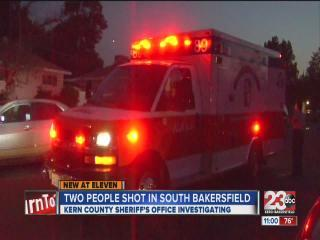 Two people shot in South Bakersfield