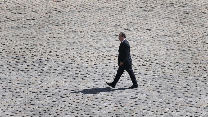 Lonely year for French president at time of crisis