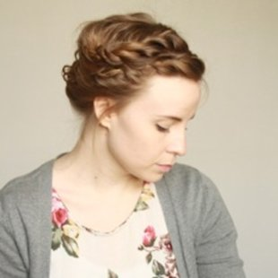 Crown Braid and Gibson Tuck