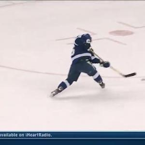 Martin St Louis blasts one from the slot