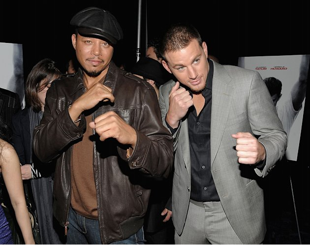 Fighting NY Premiere 2009 Terrence Howard Channing Tatum