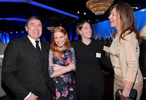 The Little Girl Steals the Show at the New-Look Oscar Nominees Lunch