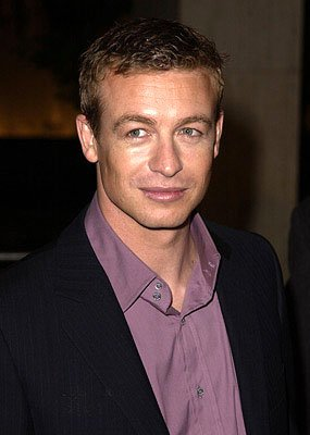 Premiere: Simon Baker at the Century City premiere of The Affair of the Necklace - 11/20/2001