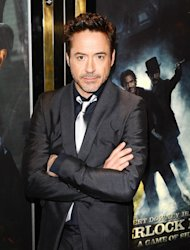 Robert Downey Jr injured his ankle while filming Iron Man 3