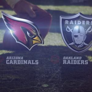 Week 7: Arizona Cardinals vs. Oakland Raiders highlights