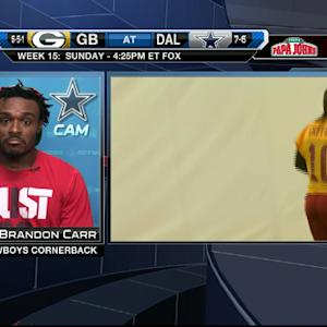 Dallas Cowboys cornerback Brandon Carr didn't know about RGIII benching