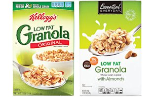 Kellog's Granola cereal vs. Essential Everyday