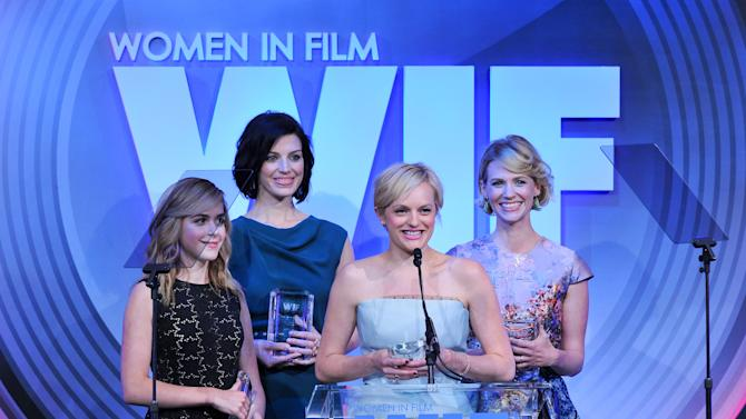 Women in Film turns 40, honors Lucas, Linney