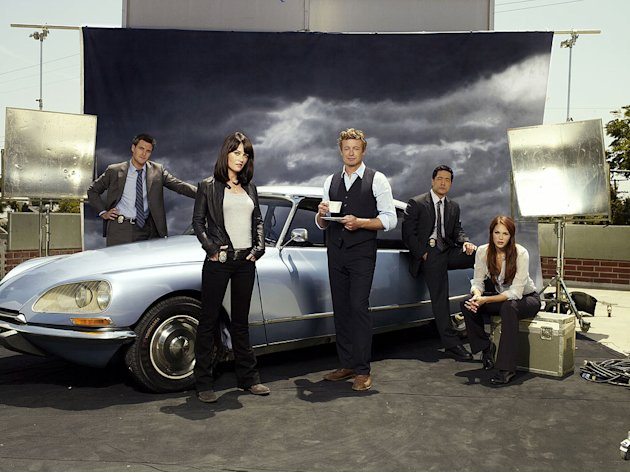 "The cast of ""The Mentalist."""