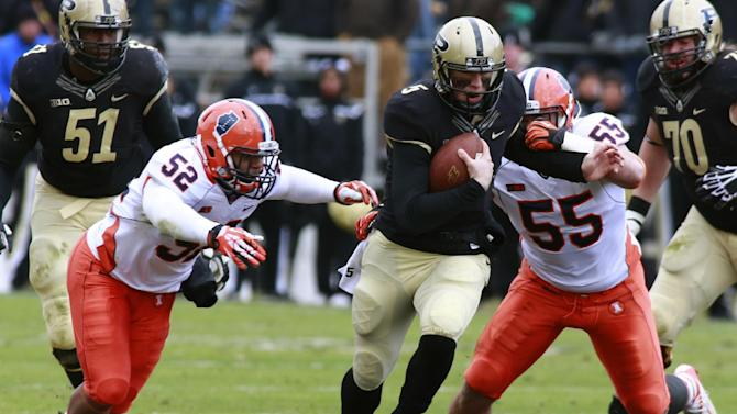 Bucket remains final item on Purdue, Indiana lists
