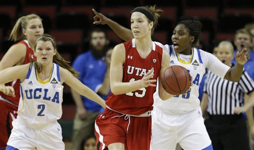 No. 14 UCLA women answer Utah and win 54-43