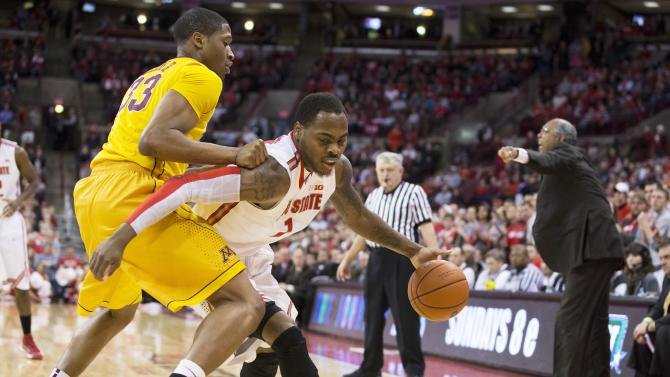 NCAA Basketball: Minnesota at Ohio State