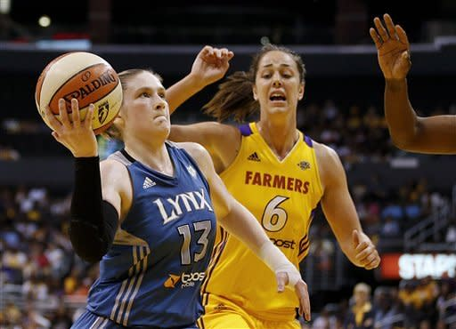 Lynx edge Sparks 80-79 to reach WNBA finals