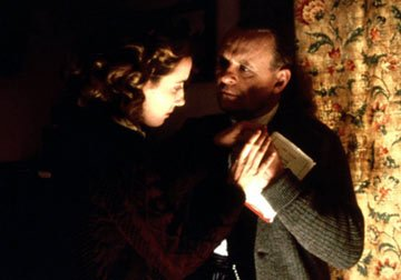 Emma Thompson and Anthony Hopkins in Columbia Pictures' The Remains of the Day