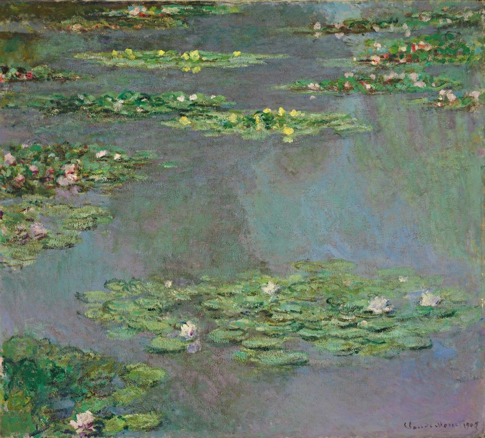Work from Monet's 'Water Lilies' fetches over $43M
